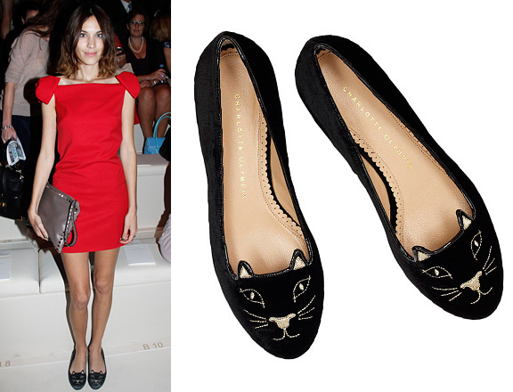Fashion Envy: Charlotte Olympia kitten flats