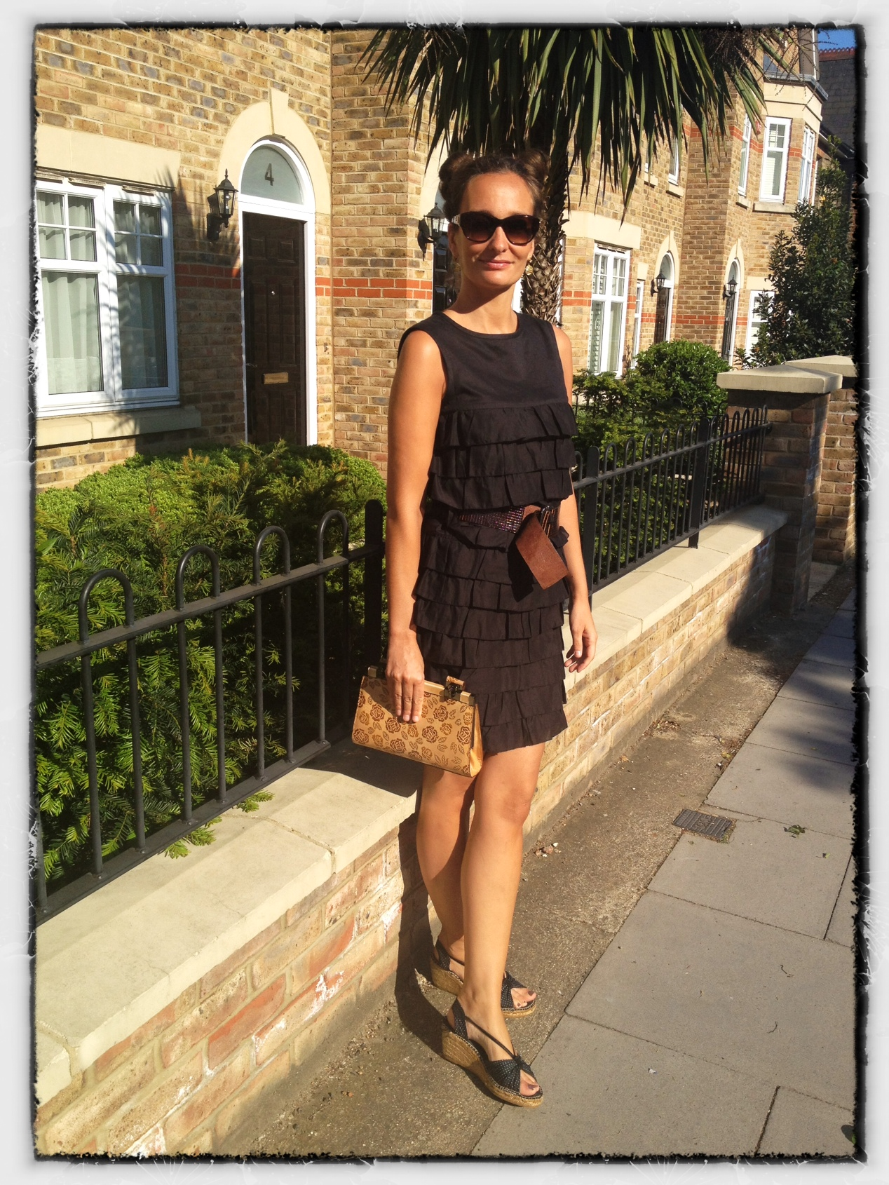 Black dress in summer - The Romantic Summer Lbd