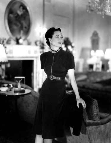 Wallis simpson dress style