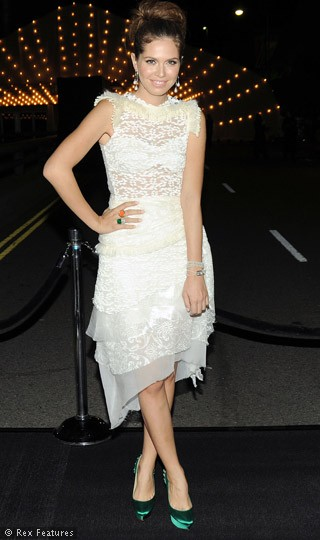 Lace dress from Rodarte
