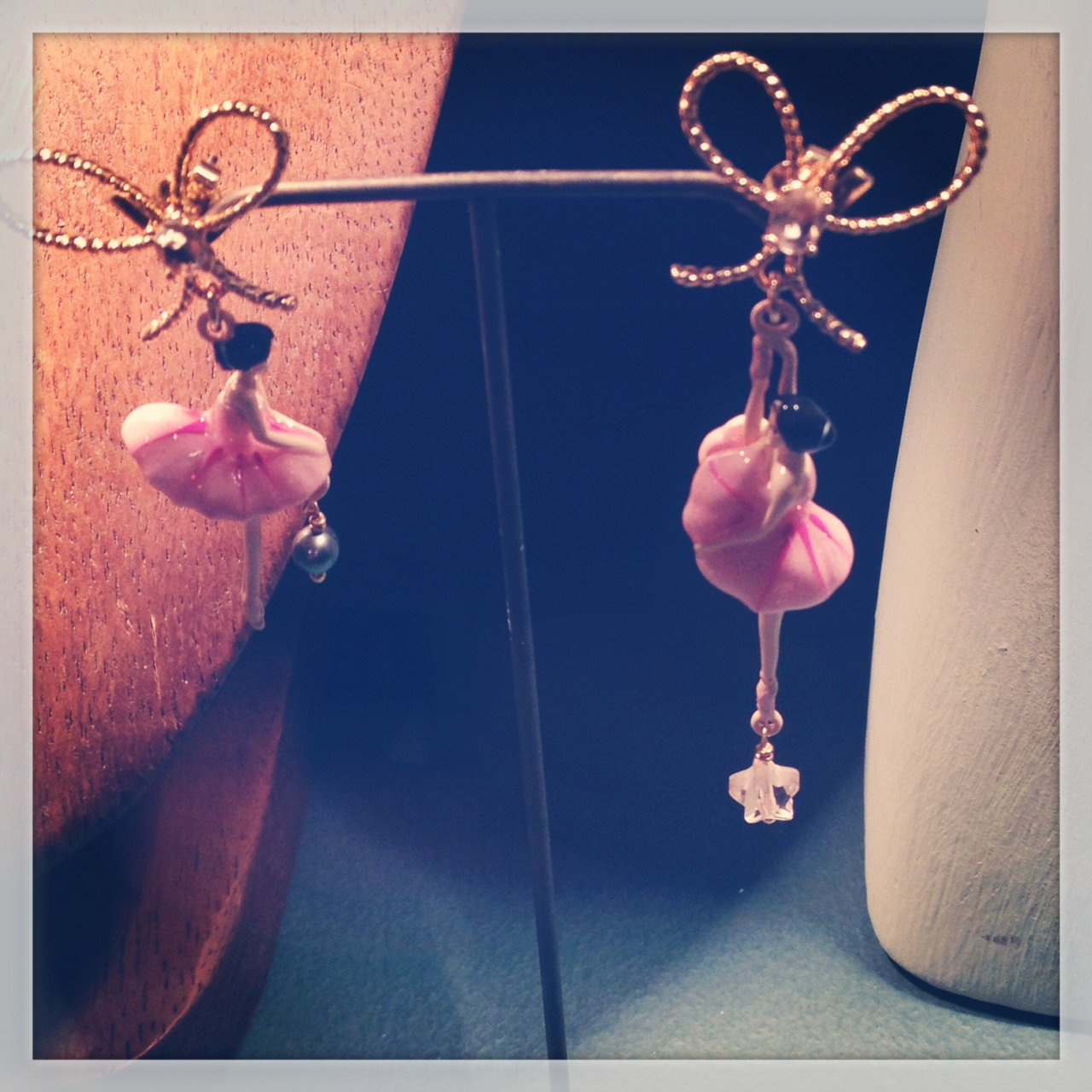 Les Nereides Ballerina earrings