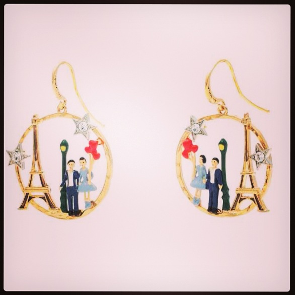Parisian Lover earrings