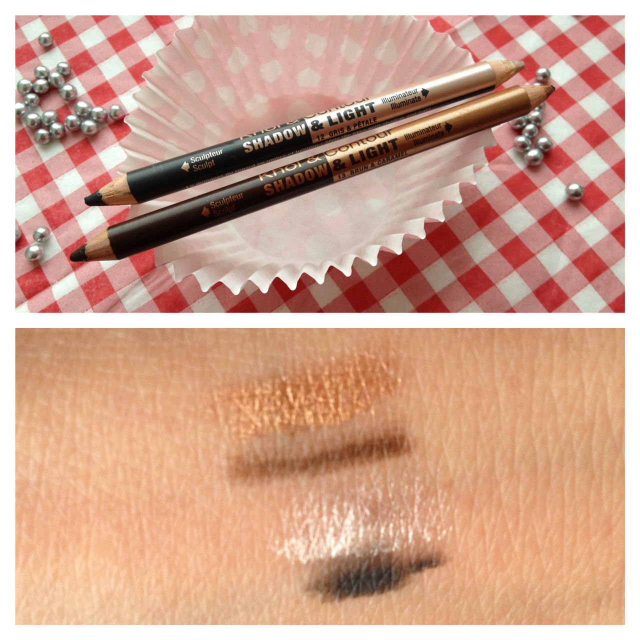 Bourjois Kohl and Contour Shadow and Light