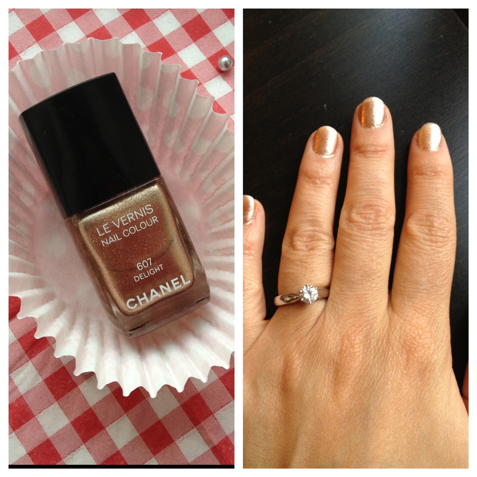 Chanel Nail Varnish Delight