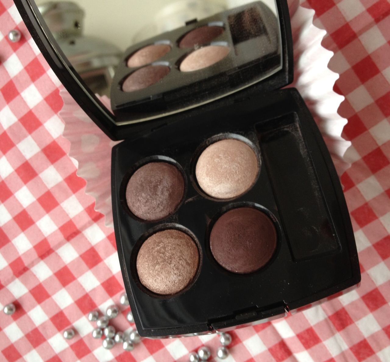 "Chanel Eyeshadow quad ""Raffinement"""