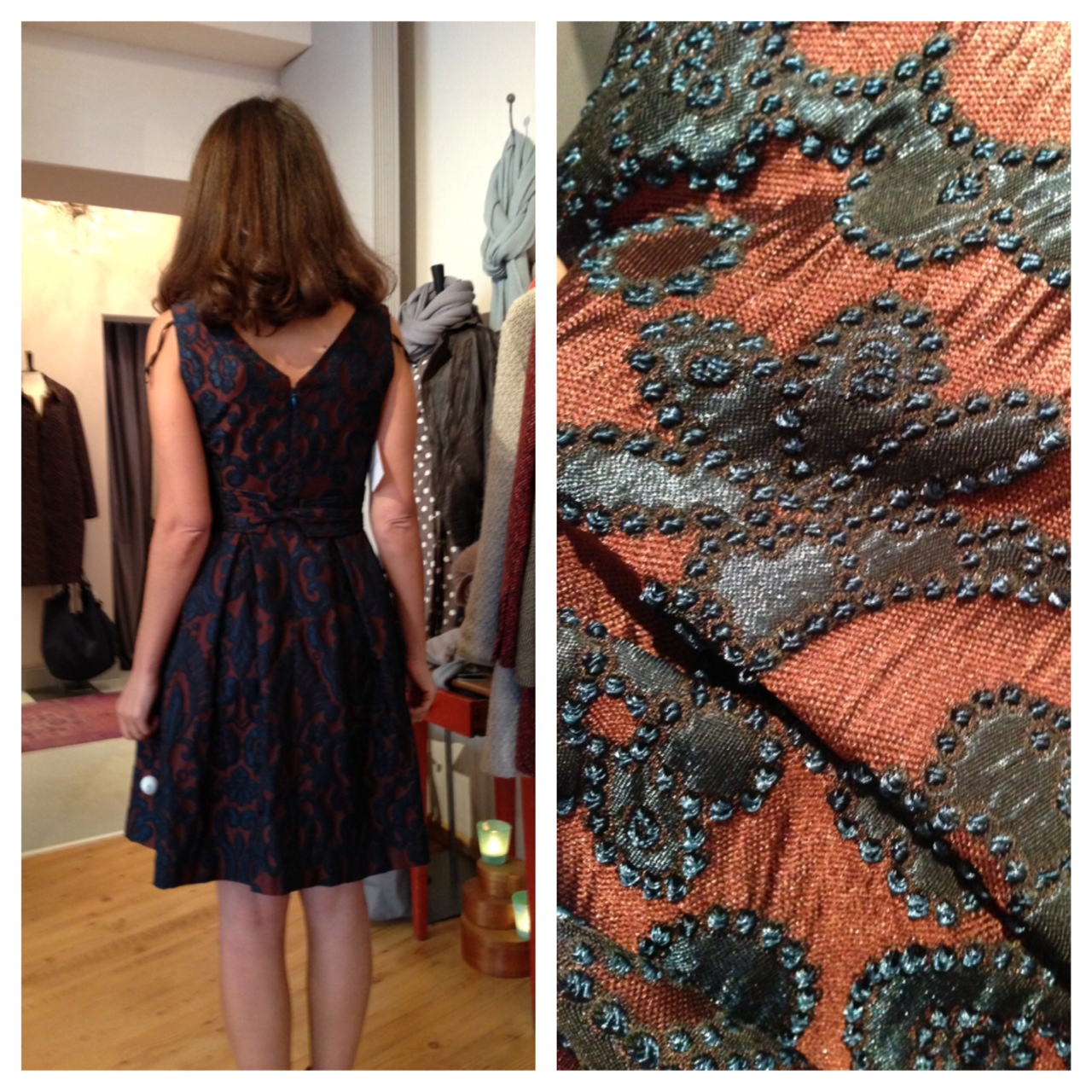 Ellen Eiseman Brocade Dress 2013