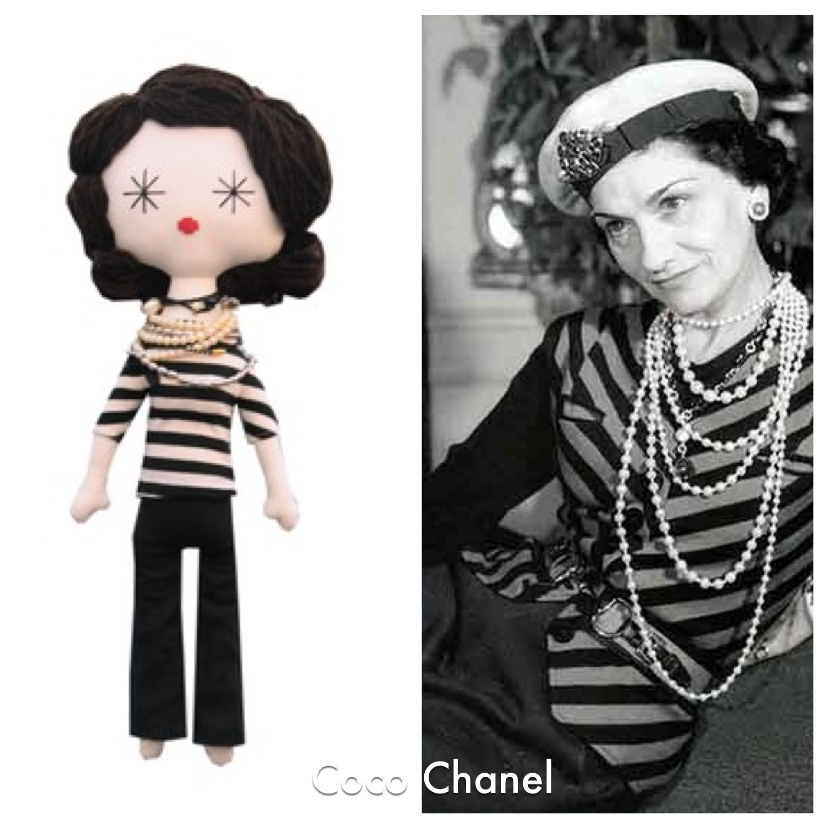 Laloushka Coco Chanel doll