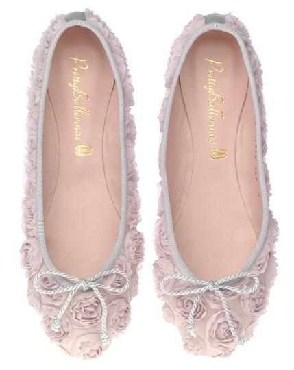 Pretty Ballerina Wedding ballet pumps