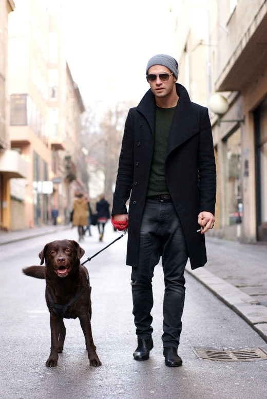 black-mid-length-fitted-coat