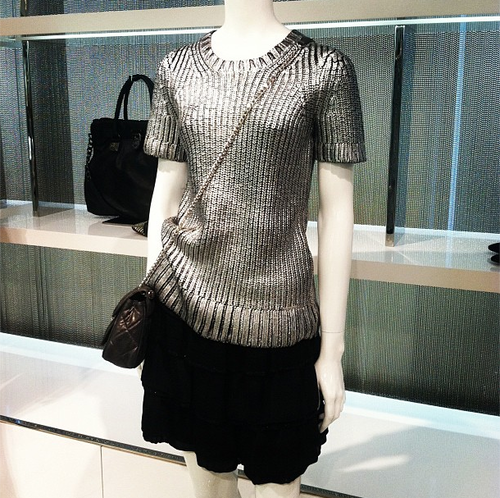 Metallic jumper from Michael Kors