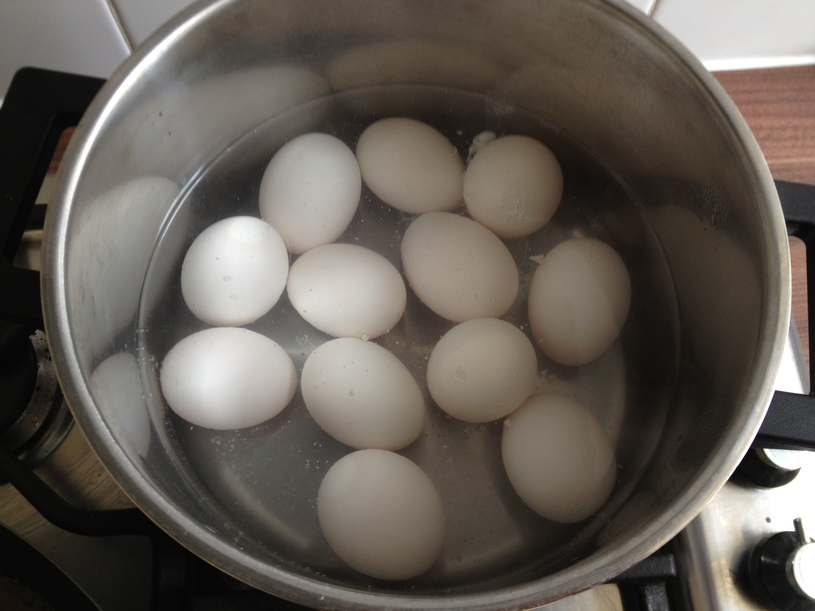 hard boil duck eggs for 12 minutes