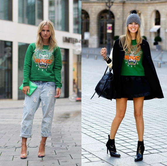 Kenzo tiger sweater-street-style