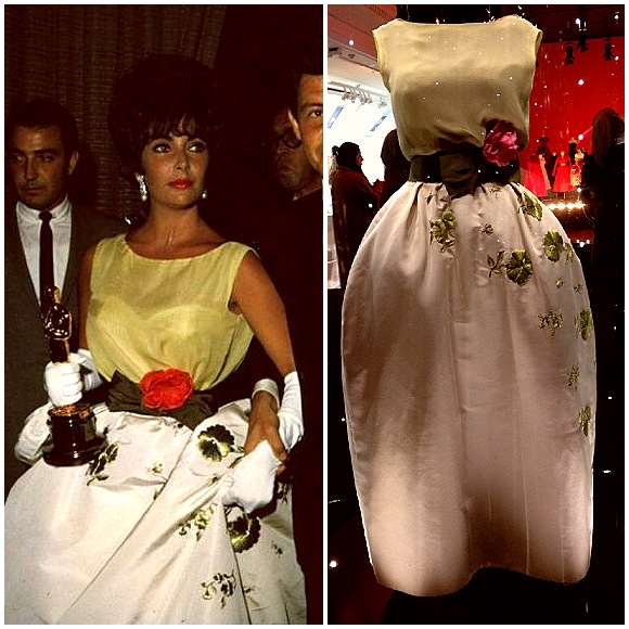 Liz Taylor at the Oscars in 1961
