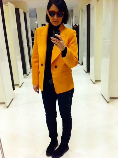 Zara-orange-blazer-ss13