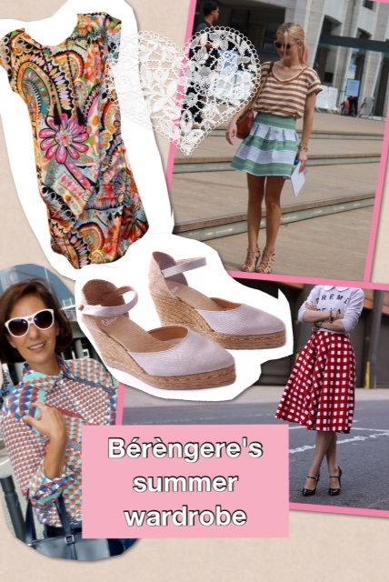 French chic summer wardrobe