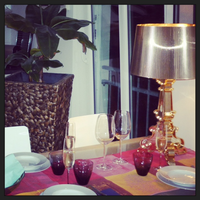 Decor romantique and rebel for Decoration kartell
