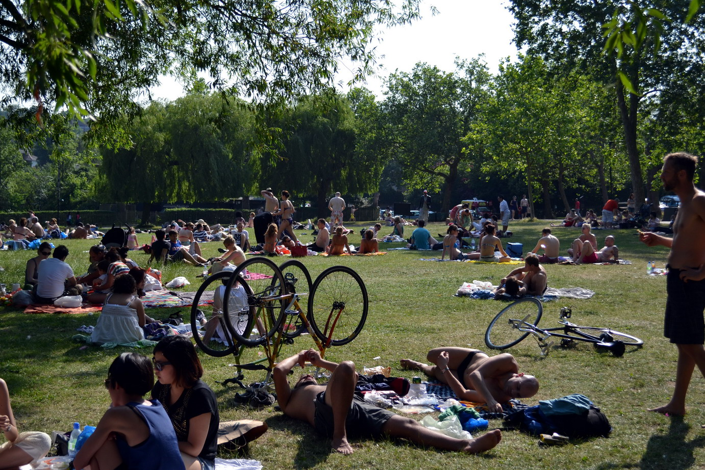 Londoner's sizzling in the sun after a catastrophic spring and early summer