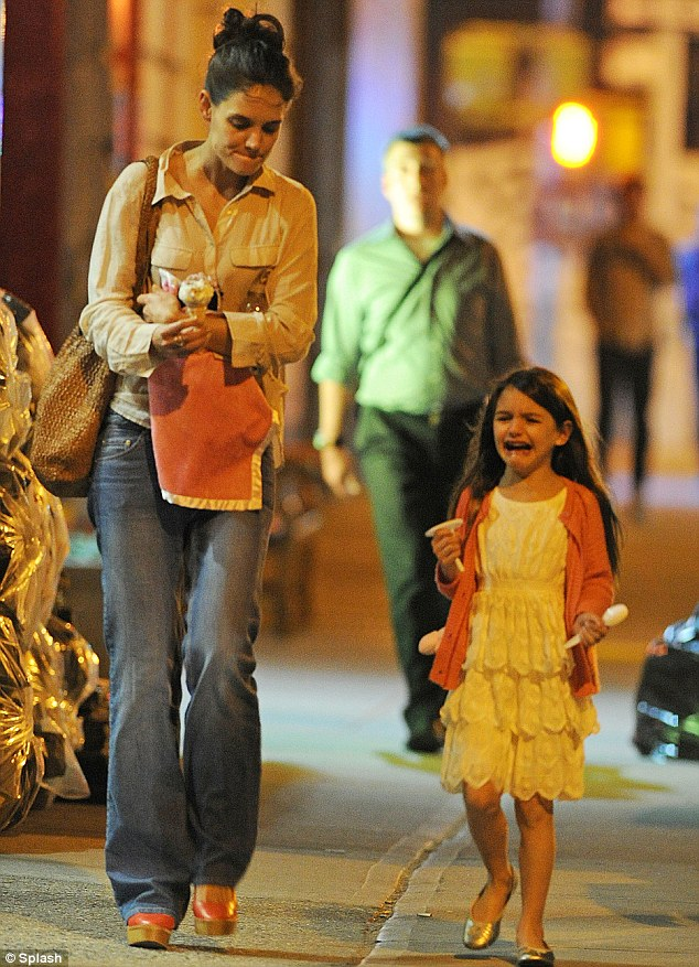 Suri Cruise must be the most annoying kid on the planet. She is often seen throwing a tantrum in public.
