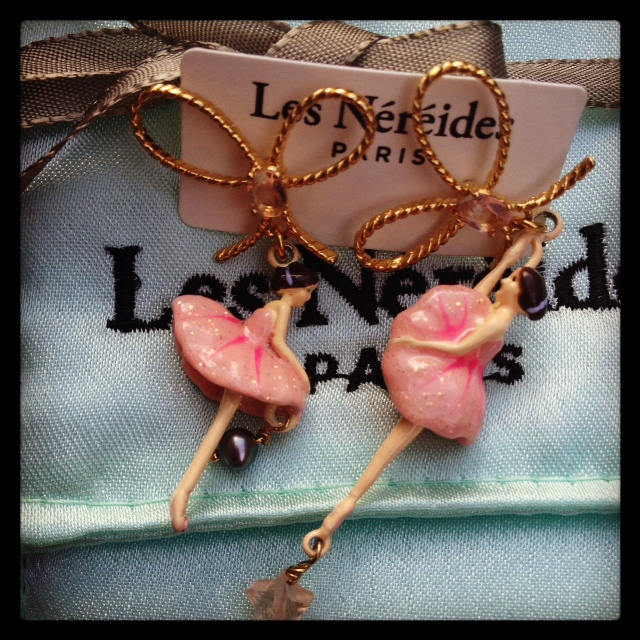 Les Nereides Pas De Deux earrings