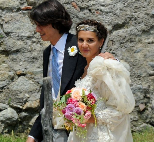 I loved the pictures of Margherita Missoni's uncoventional and cute wedding