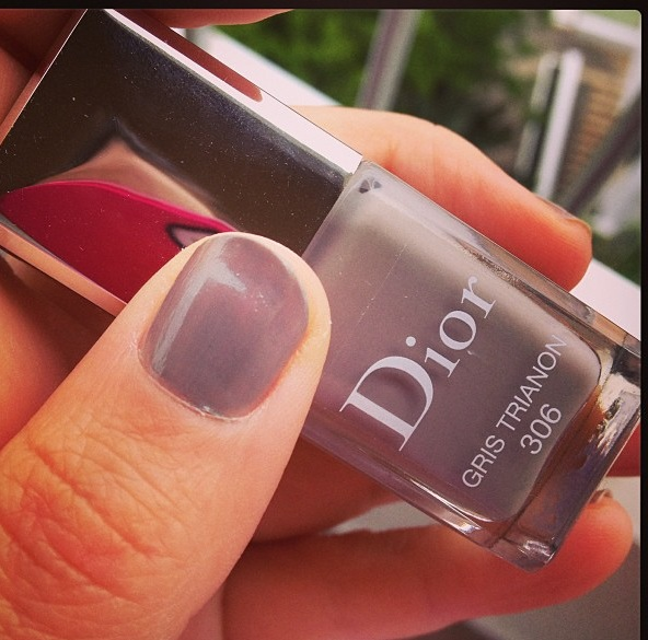 Dior Nail Varnish 'Gris Trianon'