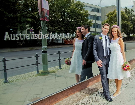 Wedding Australian Embassy Berlin