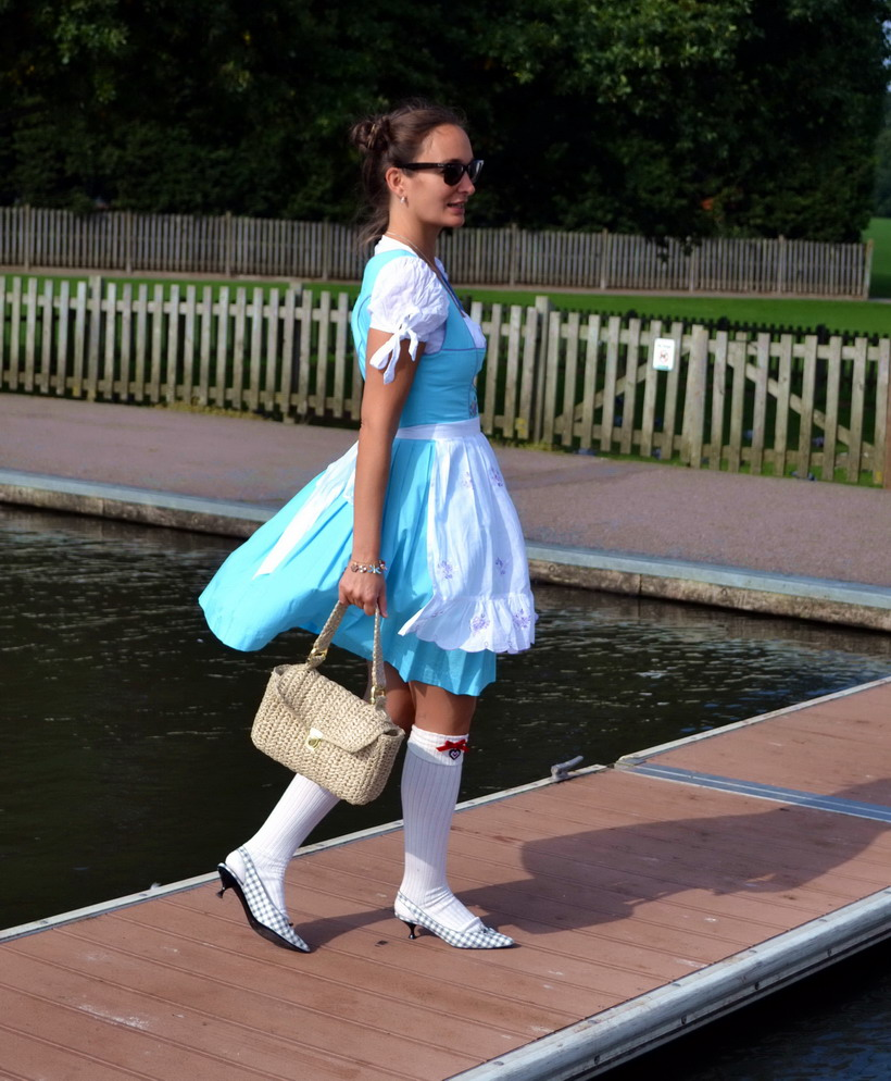 Dirndl Oktoberfest Falke Socks Marc Jacobs shoes