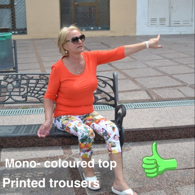 50+ Styling Advice Printed Trousers