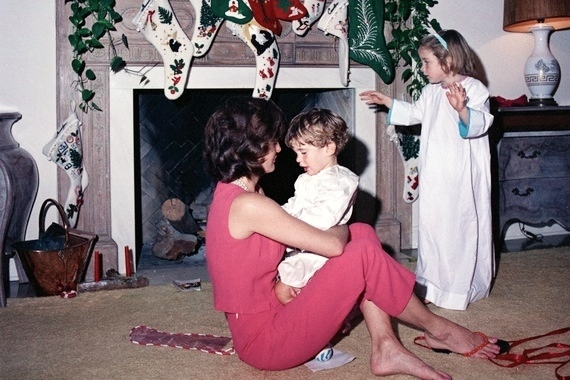 What to wear on Christmas Day: Jackie Kennedy's White House