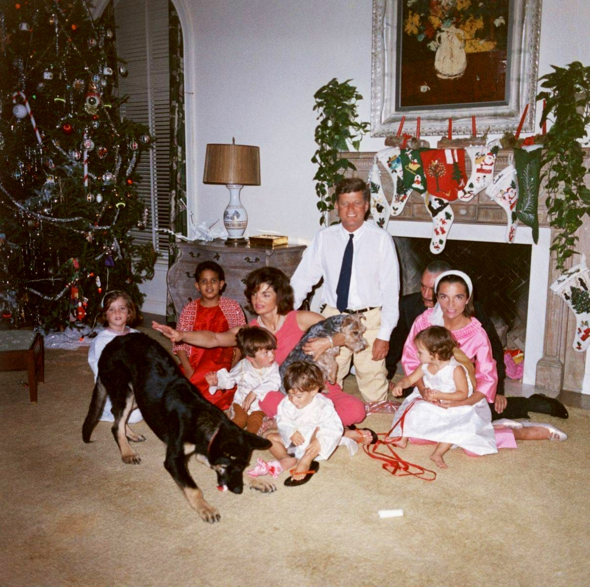 jackie kennedy christmas white house