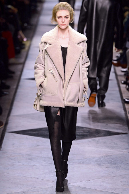 Loewe leather and lambskin rtw fall 2013