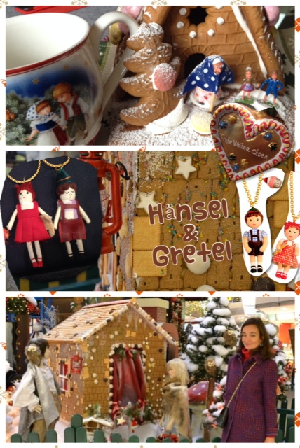 What would Christmas be without the story of Hansel and Gretel and the gingerbread house?