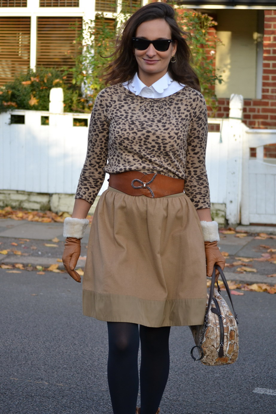 Leopard animal print streestyle London