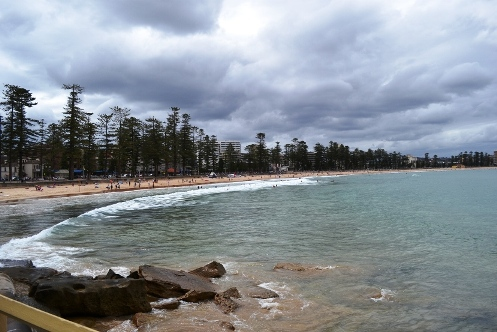 Manly Australia cloudy day
