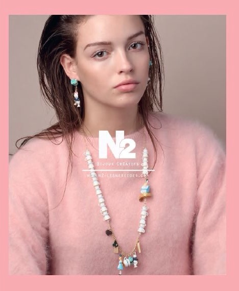 Les Nereides' N2 Alice in wonderland collection SS 2014 is not yet in the shops. Stay tuned for a full review when they will be ;-) How adorable is this cup alice necklace? Pic from Paulette Magazine.