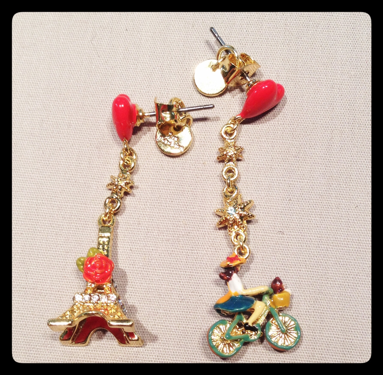Les Néréides SS 2014 Paris Earrings