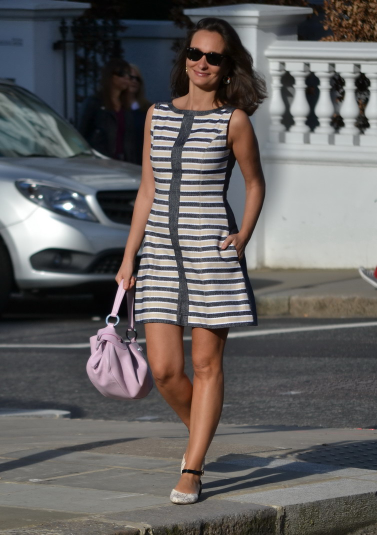 Striped dress SS2014 Max and Co