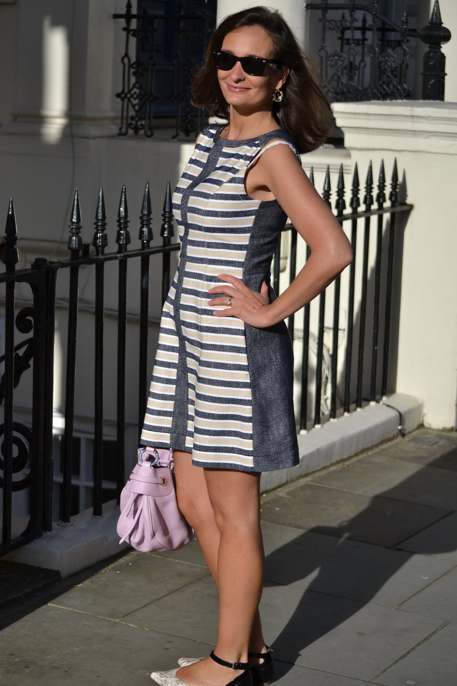 Stripey summer dress Max and Co