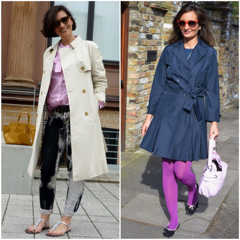 classic trenchcoat burberry fashion sisters