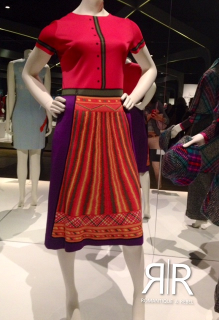Exhibition VandA Museum London Italian Glamour 1945-2014 Knitted dress