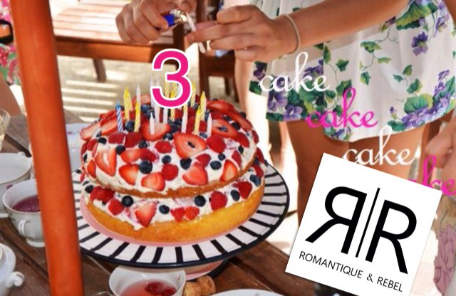 Romantique and Rebel 3rd Birthday