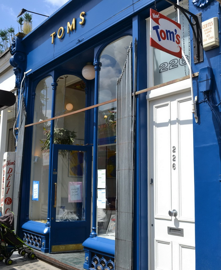 New tom's restaurant Westbourne Grove