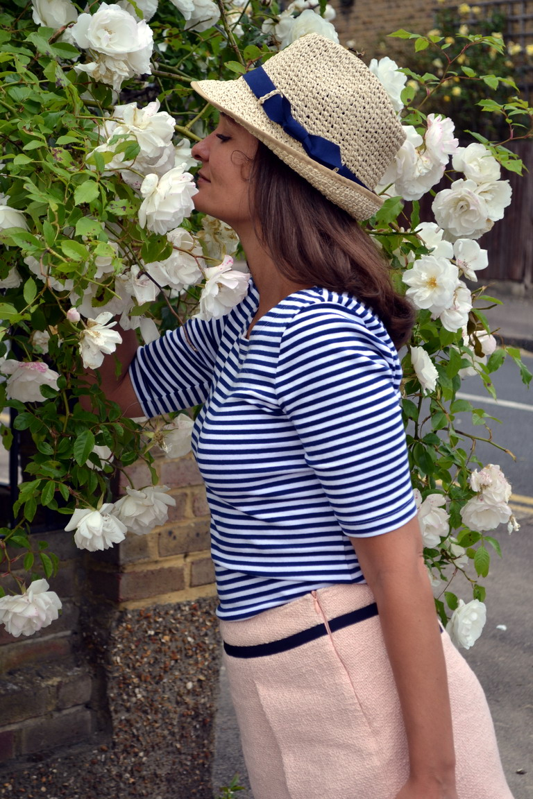Straw panama hat London street style