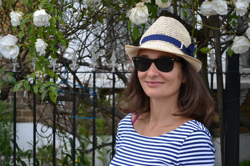 Panama straw hat london street style