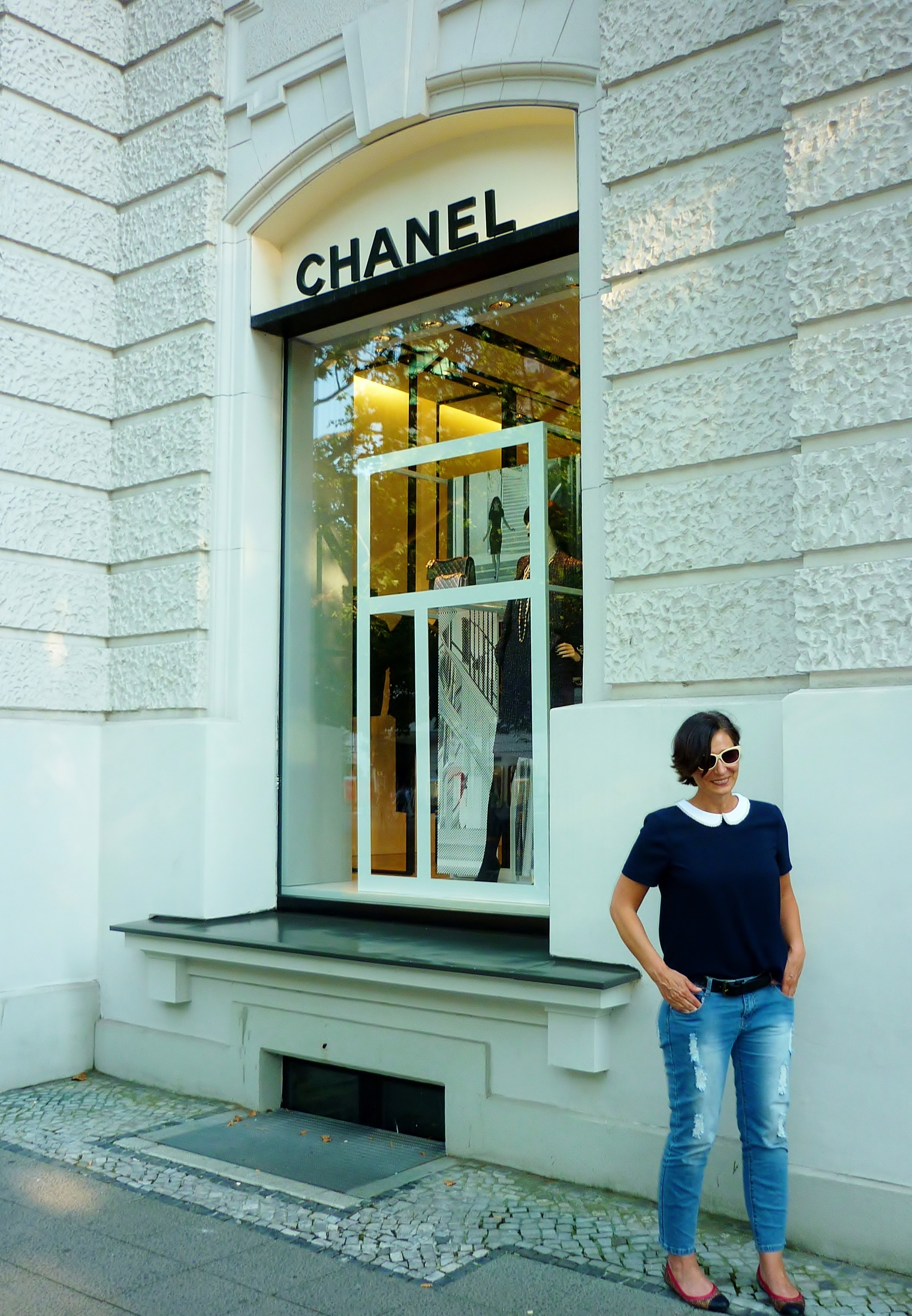 Chanel Berlin what to wear at chanel romantique and rebel