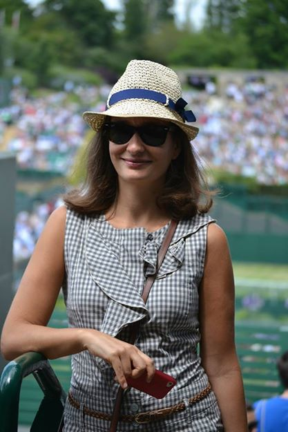 Wimbledon Tennis Centre Court 2014