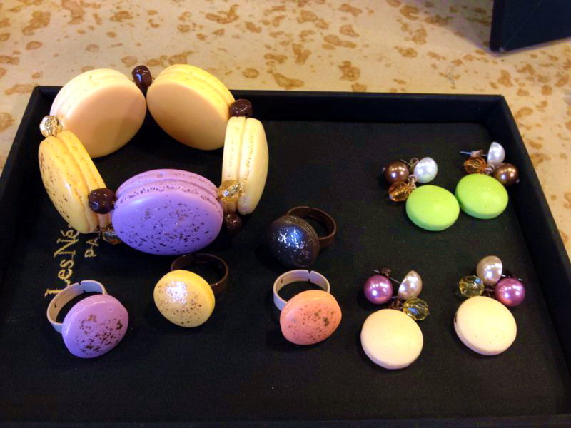 Les Nereides N2's new AW2015 macaron collection! Too sweet to resist.  IL PARAÎT QU'ILS SONT BONS