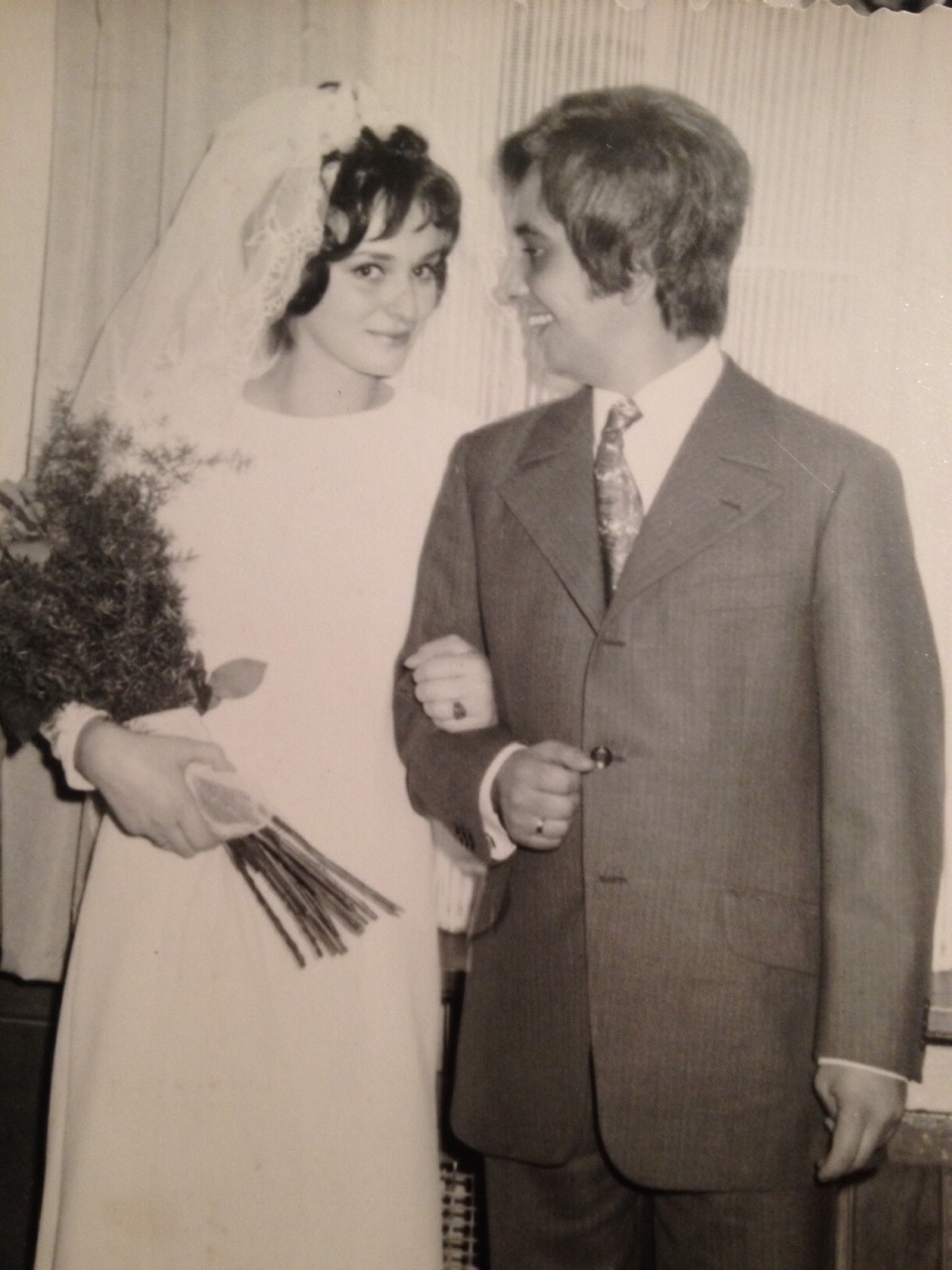 Our parents in 1970. They got married despite their families who opposed the union.