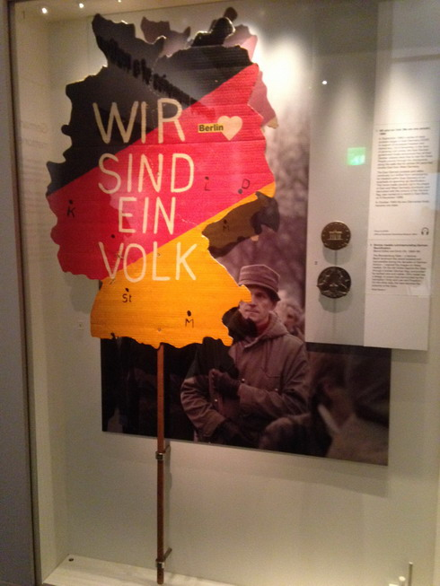 Wir sind ein Volk - Germany memories of a nation exhibition London