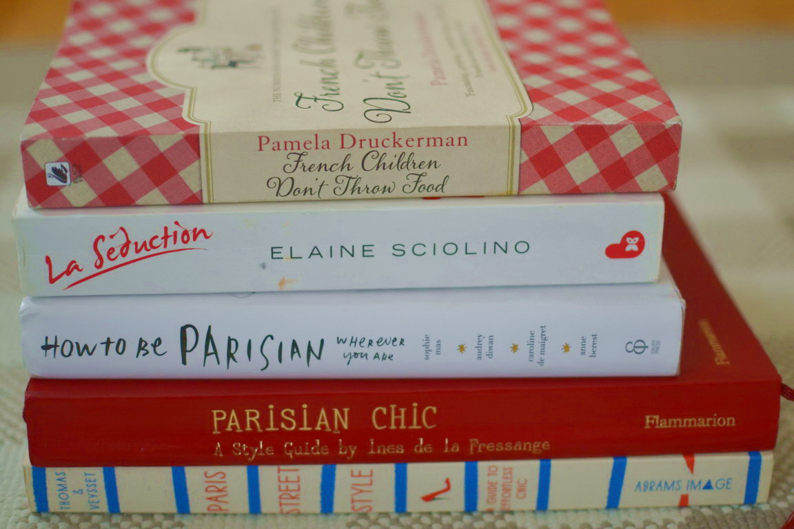 French Books on Chic, Style, Life, relationships